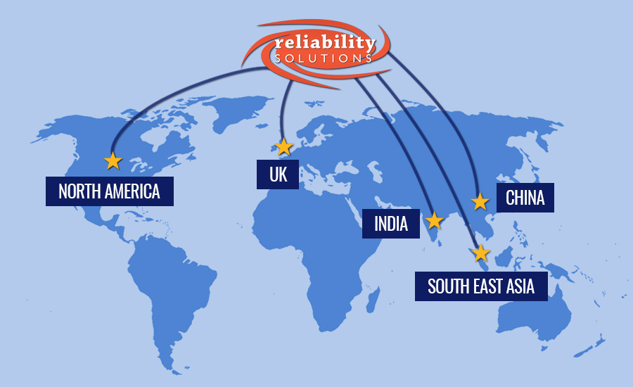 Reliability Solutions Global Map